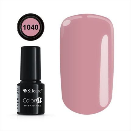Esmalte permanente 1040 de la gama Color IT Premium marca Silcare - TheNailsCloset