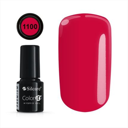 Esmalte permanente 1100 de la gama Color IT Premium marca Silcare - TheNailsCloset