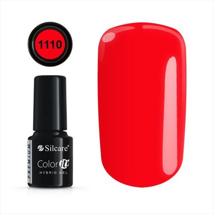 Esmalte permanente 1110 de la gama Color IT Premium marca Silcare - TheNailsCloset