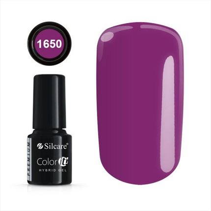 Esmalte permanente 1650 de la gama Color IT Premium marca Silcare - TheNailsCloset