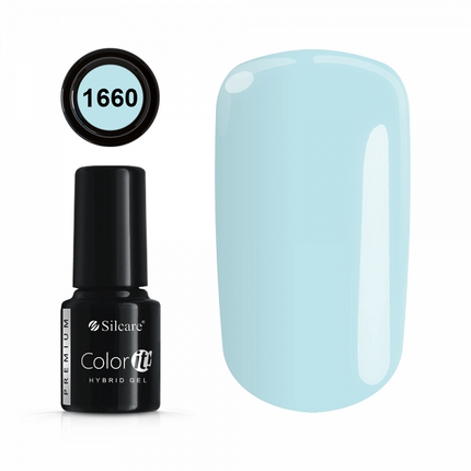 Esmalte permanente 1660 de la gama Color IT Premium marca Silcare - TheNailsCloset