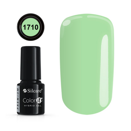 Esmalte permanente 1710 de la gama Color IT Premium marca Silcare - TheNailsCloset