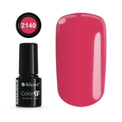 Esmalte permanente 2140 de la gama Color IT Premium marca Silcare - TheNailsCloset