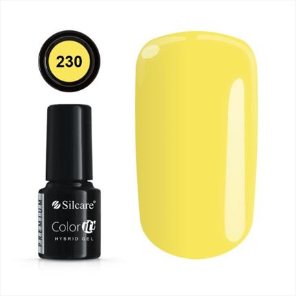 Esmalte permanente 230 de la gama Color IT Premium marca Silcare - TheNailsCloset