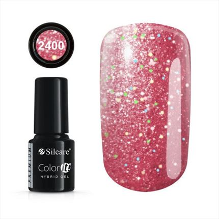 Esmalte permanente 2400 de la gama Color IT Premium marca Silcare - TheNailsCloset