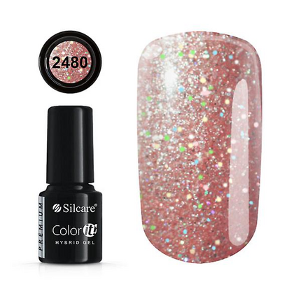 Esmalte permanente 2480 de la gama Color IT Premium marca Silcare - TheNailsCloset