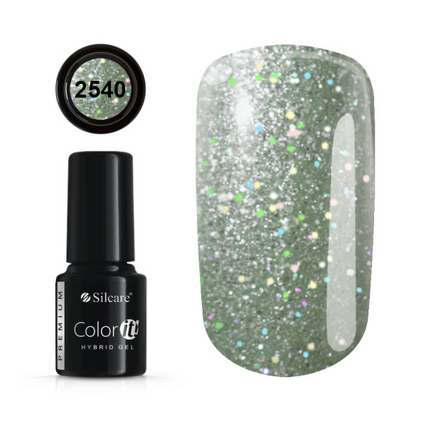 Esmalte permanente 2540 de la gama Color IT Premium marca Silcare - TheNailsCloset