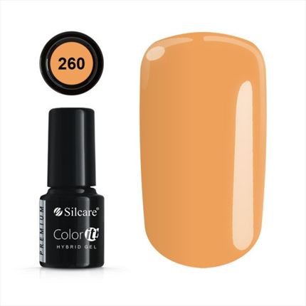 Esmalte permanente 260 de la gama Color IT Premium marca Silcare - TheNailsCloset