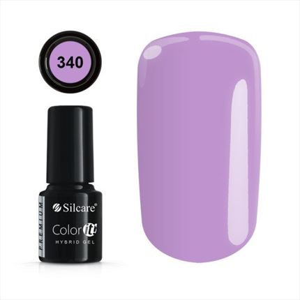 Esmalte permanente 340 de la gama Color IT Premium marca Silcare - TheNailsCloset