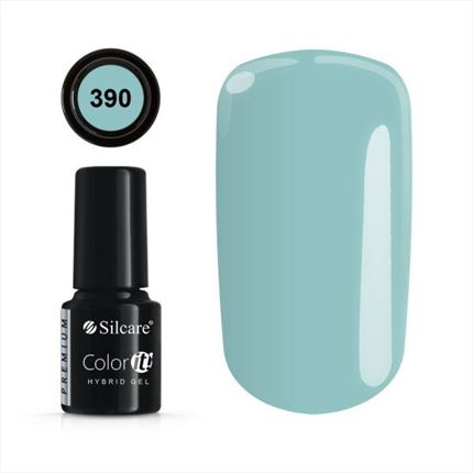 Esmalte permanente 390 de la gama Color IT Premium marca Silcare - TheNailsCloset
