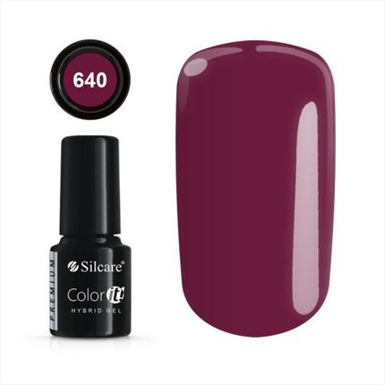 Esmalte permanente 640 de la gama Color IT Premium marca Silcare - TheNailsCloset