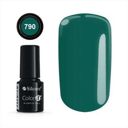 Esmalte permanente 790 de la gama Color IT Premium marca Silcare - TheNailsCloset