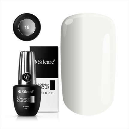 Esmalte permanente color 18 de la gama Garden of Colour marca Silcare - TheNailsCloset