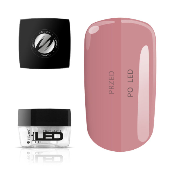 Gel de uñas monofásico High Light LED Cover 15g