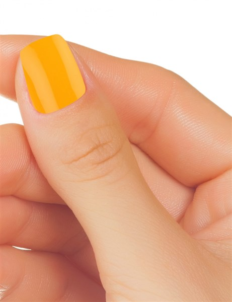 Gel de uñas color amarillo (3)