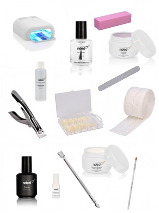 Comprar Kit para uñas de gel con lámpara - TheNailsCloset