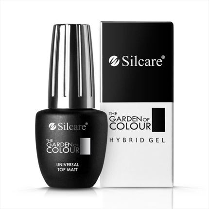 Top coat UV / LED con acabado mate profesional de la gama The Garden of Colour - TheNailsCloset