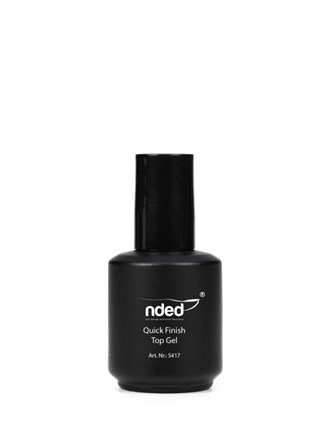 Top Coat UV / Esmalte gel de uñas de acabado rápido 15ml - TheNailsCloset