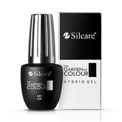 Top Coat UV / LED The Garden of Colour Dry Top 15g Silcare - TheNailsCloset